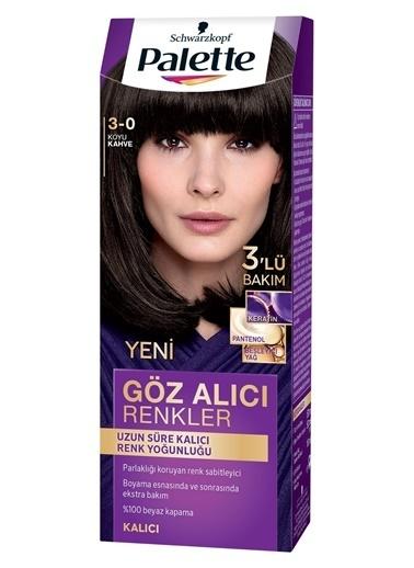 Palette Palette Yoğun Göz Alıcı Renkler Saç Boyası 3-0 Renkli
